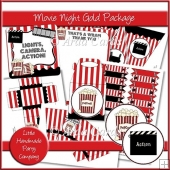 Movie Night Gold Party Package