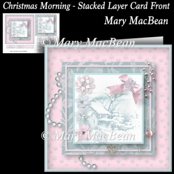 Christmas Morning - Stacked Layer Card Front