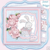 BUNNY LOVE 8x8 Decoupage & Insert Kit All Occasions