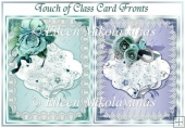 Set of 2 Touch of Class Quick Card Fronts