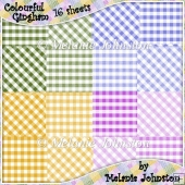 Gingham Backing Paper