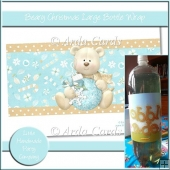 Beary Christmas Large Bottle Wrap