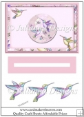 Humming bird Slider Sheet