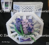 3D Hyacinth Bouquet Card & Box, TF0201, SVG, SCAL, CAMEO, CRICUT