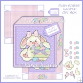 Ruby Rabbit Easter 5 by 5 Gift Box