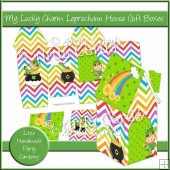 My Lucky Charm Leprechaun House Gift Boxes