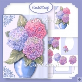 Rhododendron shaped card set