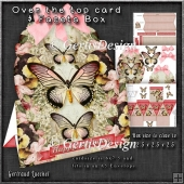 Over the Edge Card & Facets Box Red Fantasy 1268