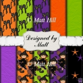Halloween Mix Paper Pack 2