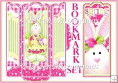 Egg-stra Special Easter Bunny Bookmark Set