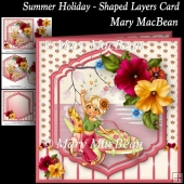 Summer Holiday - Shaped Layers Card