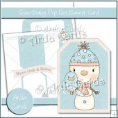 Snow Baby Pop Out Banner Card