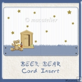 Beer Bear Card Insert