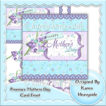 Promises Mother's Day Card Front