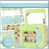 Little Handyman Waterfall Card Kit
