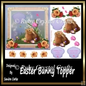 Easter Bunny Topper