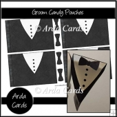 Groom Candy Pouches