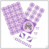 Lilac Topper Card