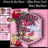 Down by the Shore - Offset Card Front