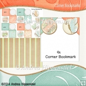 4 Corner Bookmark Butterspring