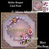 Mother Bouquet Card Front