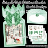 Going To Mass Christmas Cracker Card & Envelope