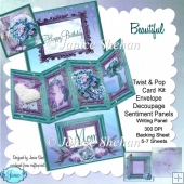 Beautiful Birthday 3D Twist and Pop Card Kit