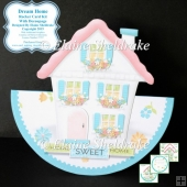 "Dream Home - 7"" x 7"" Rocker Card Kit With Decoupage"