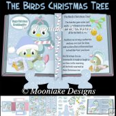 The Birds, Christmas Tree, Poem, Open Book Mini Card Kit
