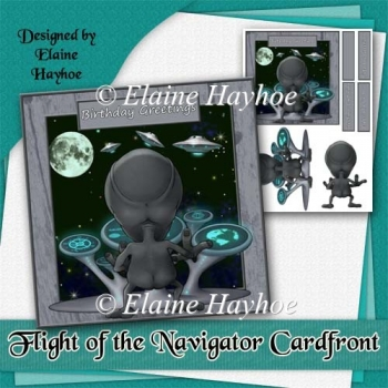 Flight of the Navigator Card Front