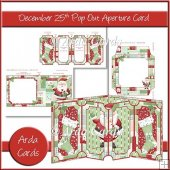 December 25th Pop Out Aperture Card