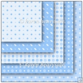 Blue Multi Spot Pattern Papers