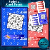 Sudoku Card Front