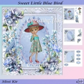 Sweet Little Blue Bird Mini Kit