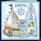 AHOY Nautical Card