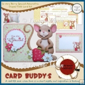 So Very Berry Special Assymetric Shaped Fold Card Kit