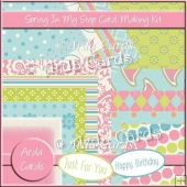 Spring In My Step Card Making Kit