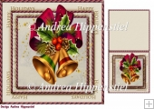 7.5 x 7.5 Card Topper & Gifttag Christmas 2