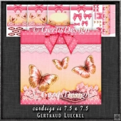 Gift Box and Gift Box Card Kit Pink 1278