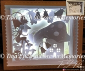Fantasy Light up Shadow Box TF0277, Cricut, Cameo, ScanNCut,SVG