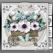 White Rose Barrow Mini Kit