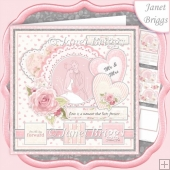 WEDDING DAY FOREVER I DO 7.5 Decoupage & Insert Mini Kit