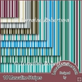 Masculine Stripes 10 A4 Backing Papers