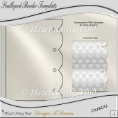 Scalloped Border Template