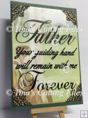 Dad / Father Your Guiding Hand 2 Files multi formats