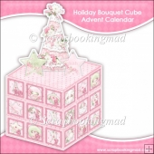 Holiday Bouquet Cube Advent Calendar