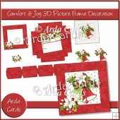 Confort & Joy 3D Picture Frame Decoration