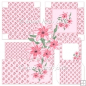 Pink Daisy Notelet Set