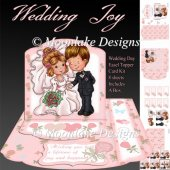 Wedding Joy Easel Topper Card Kit