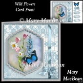 Wild Flowers Card Front
